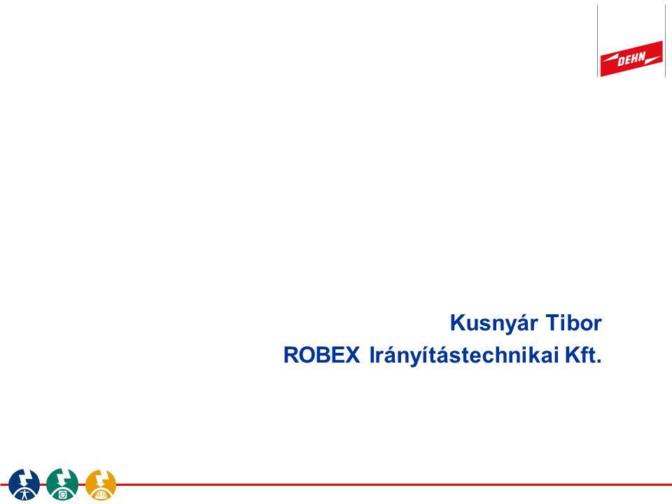 Kusnyár Tibor ROBEX Irányítástechnikai Kft.