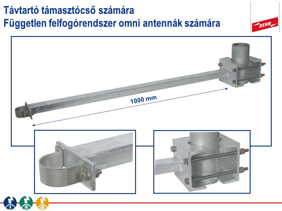 Távtartó támasztócső számára Független felfogórendszer omni antennák számára