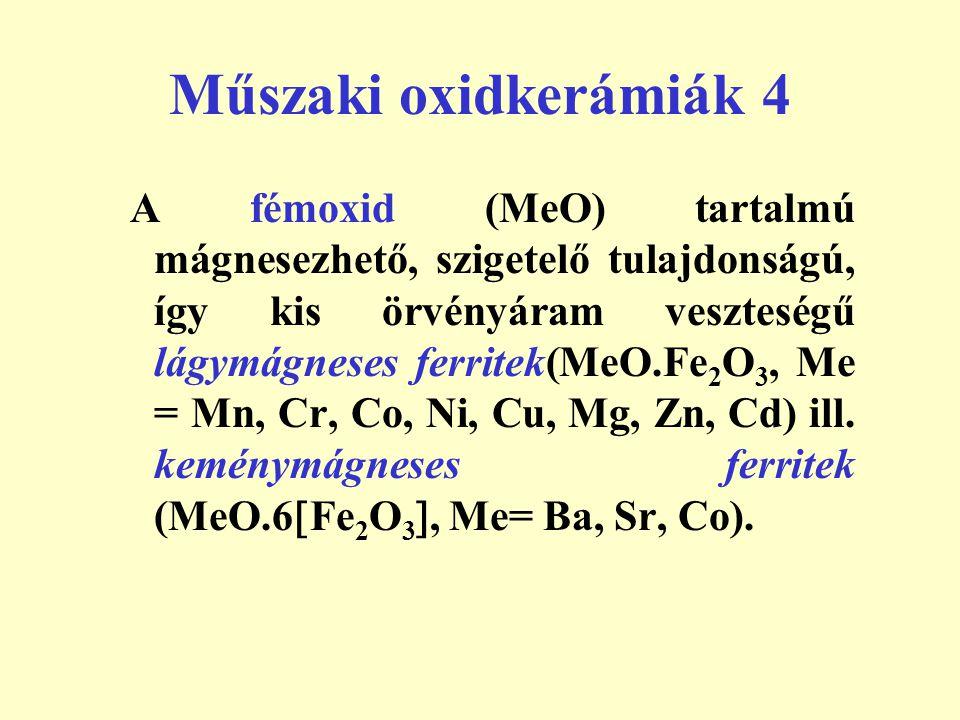 Műszaki oxidkerámiák 4