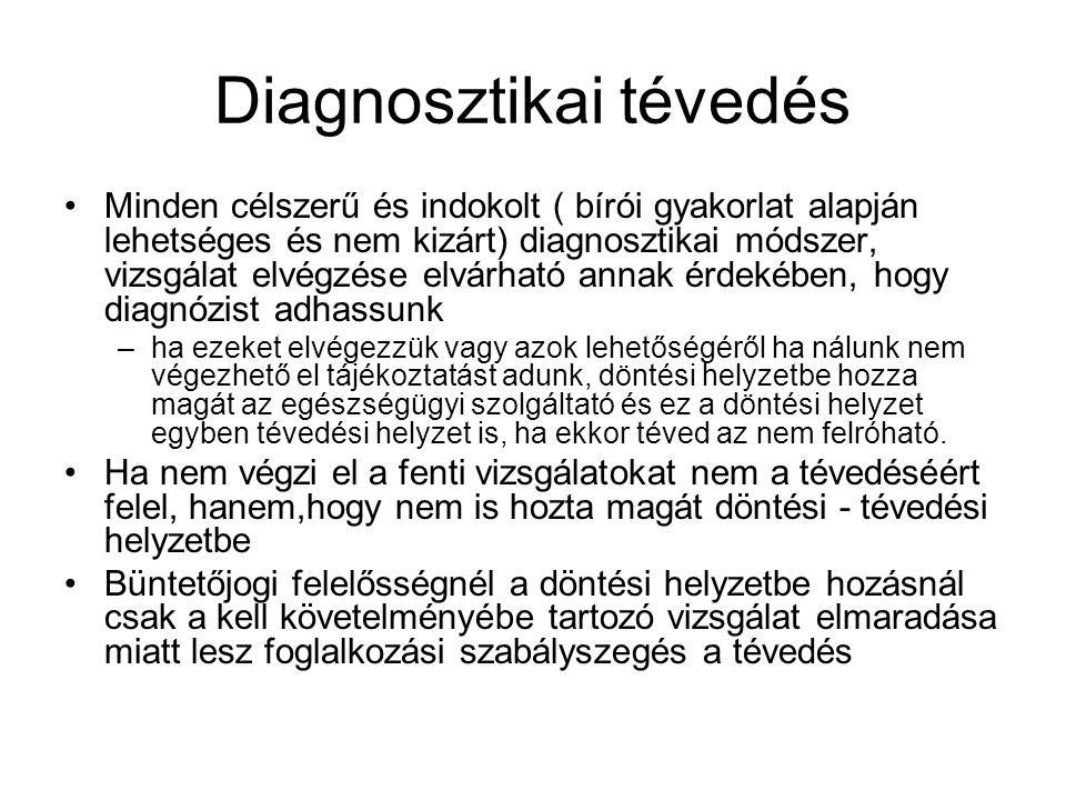 Diagnosztikai tévedés