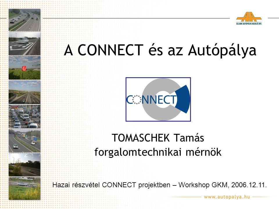 A CONNECT és az Autópálya