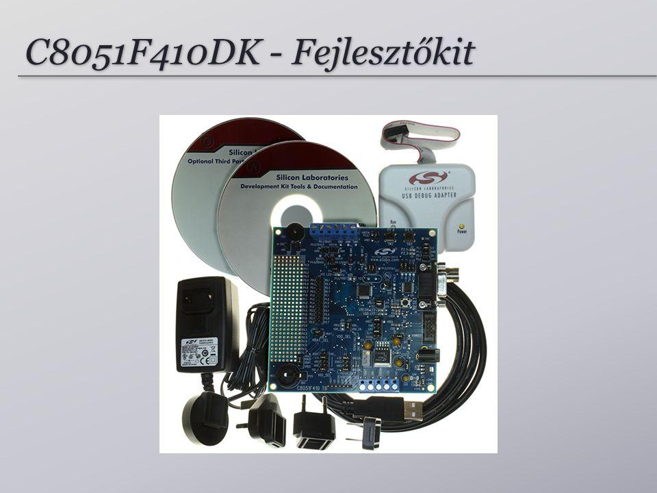 C8051F410DK - Fejlesztőkit