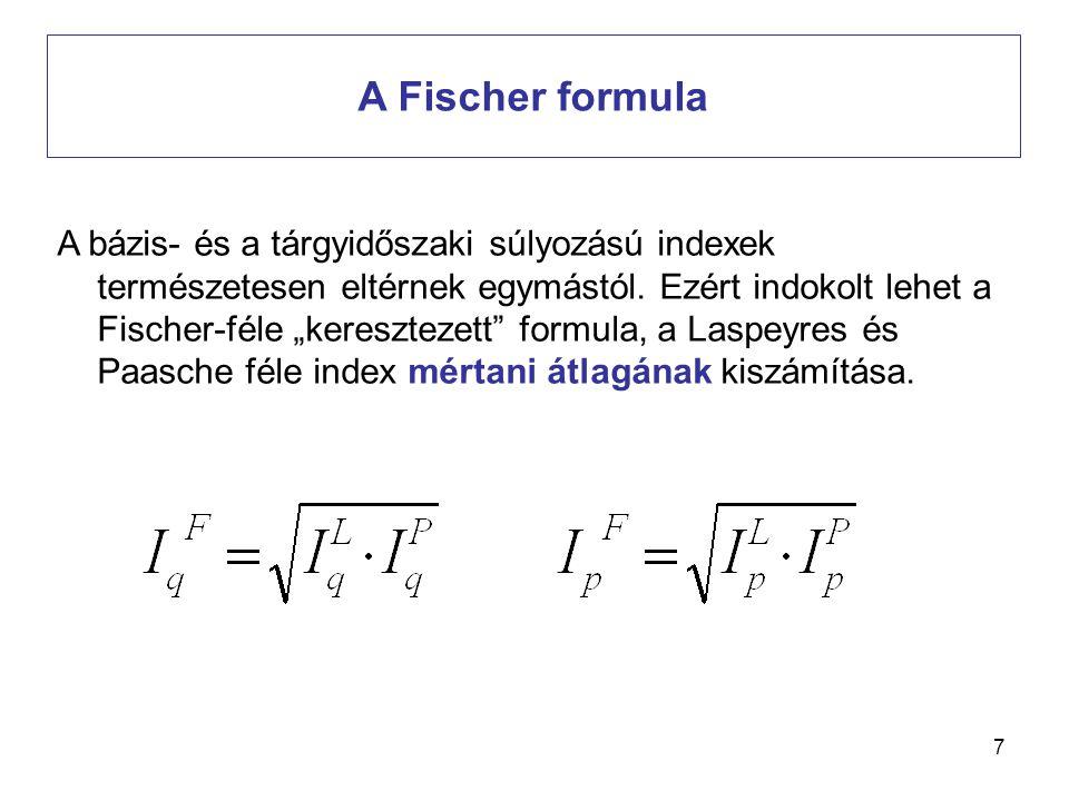 A Fischer formula