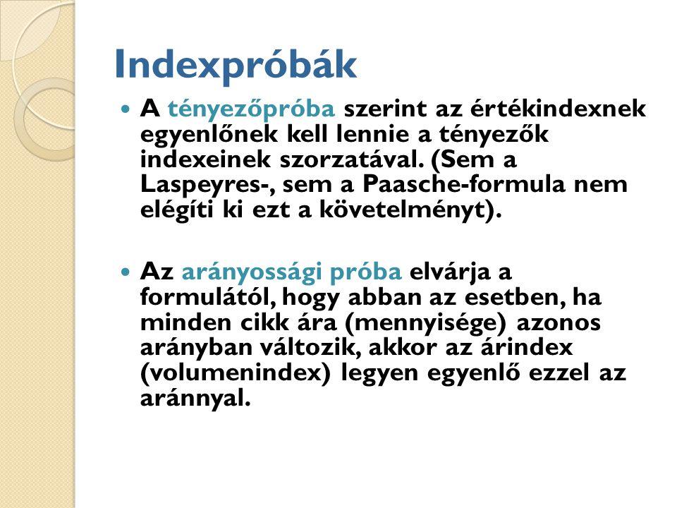 Indexpróbák
