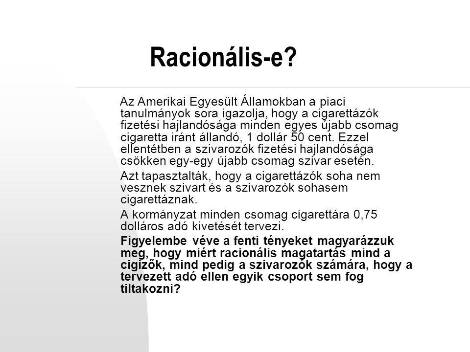 Racionális-e