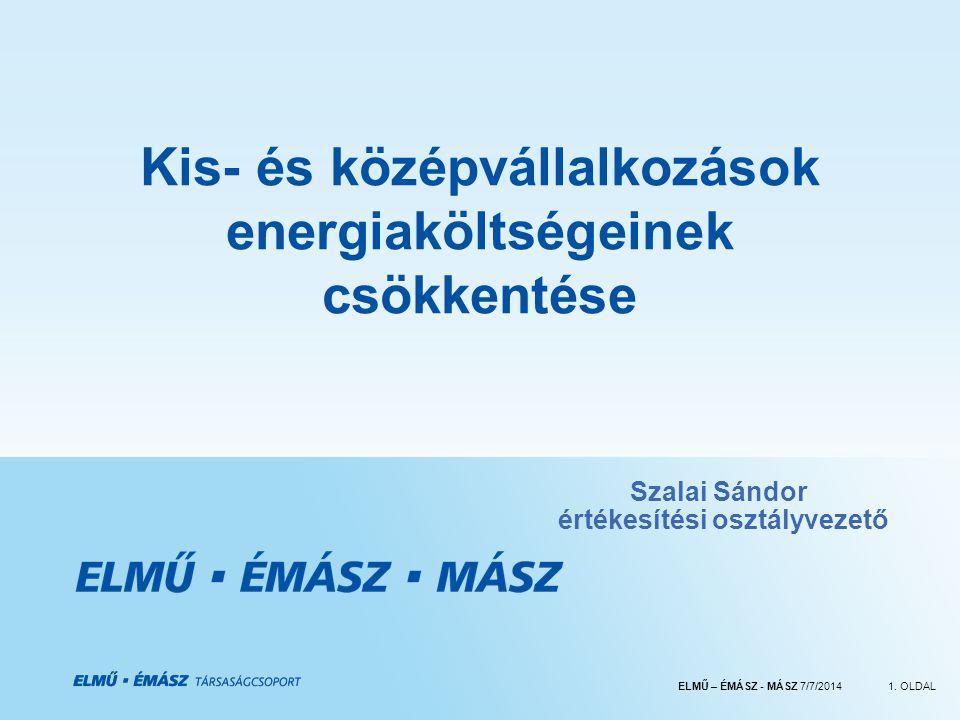 Kis- és középvállalkozások energiaköltségeinek csökkentése