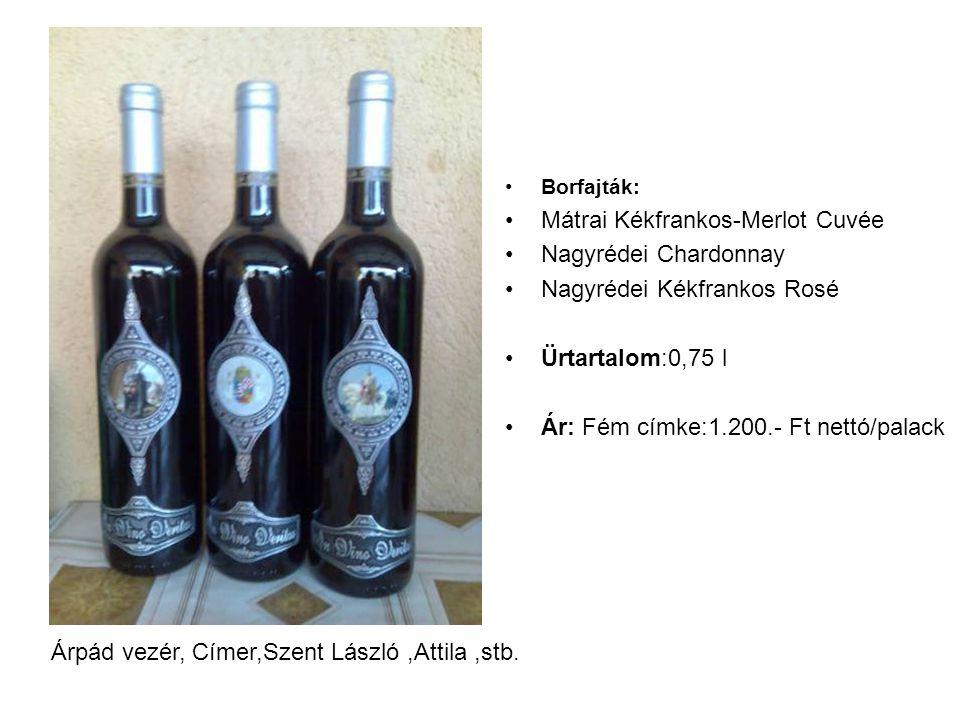 Mátrai Kékfrankos-Merlot Cuvée Nagyrédei Chardonnay