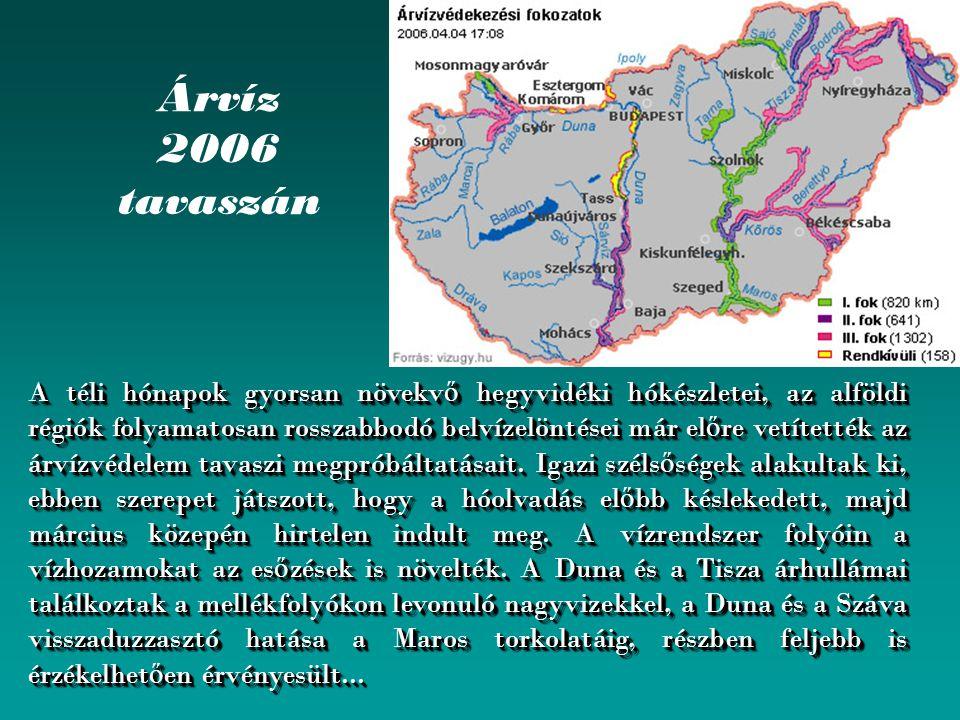 Árvíz 2006 tavaszán