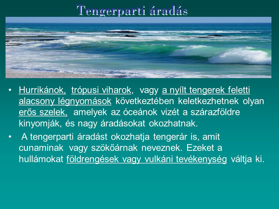 Tengerparti áradás