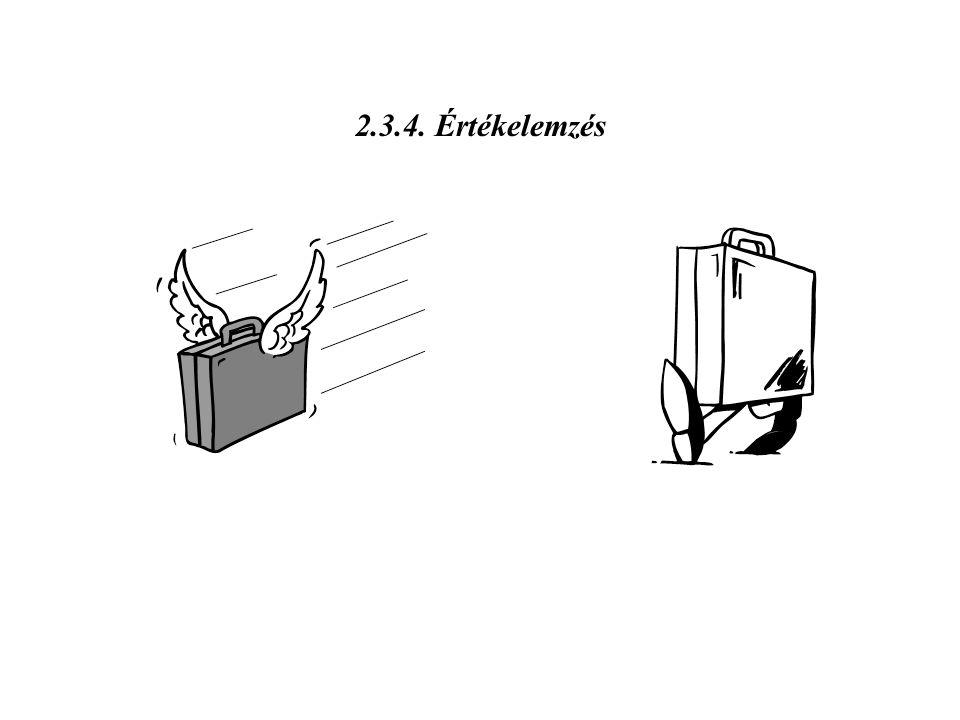 2.3.4. Értékelemzés