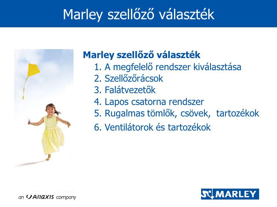 Marley szellőző választék