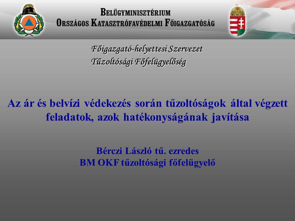 Bérczi László tű. ezredes BM OKF tűzoltósági főfelügyelő