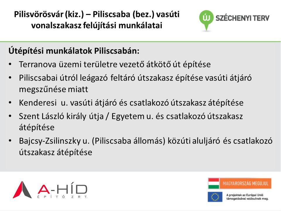 Pilisvörösvár (kiz. ) – Piliscsaba (bez