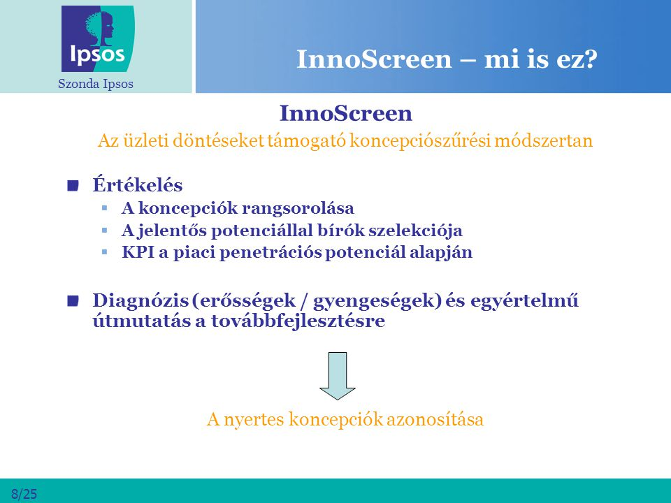 InnoScreen – mi is ez InnoScreen