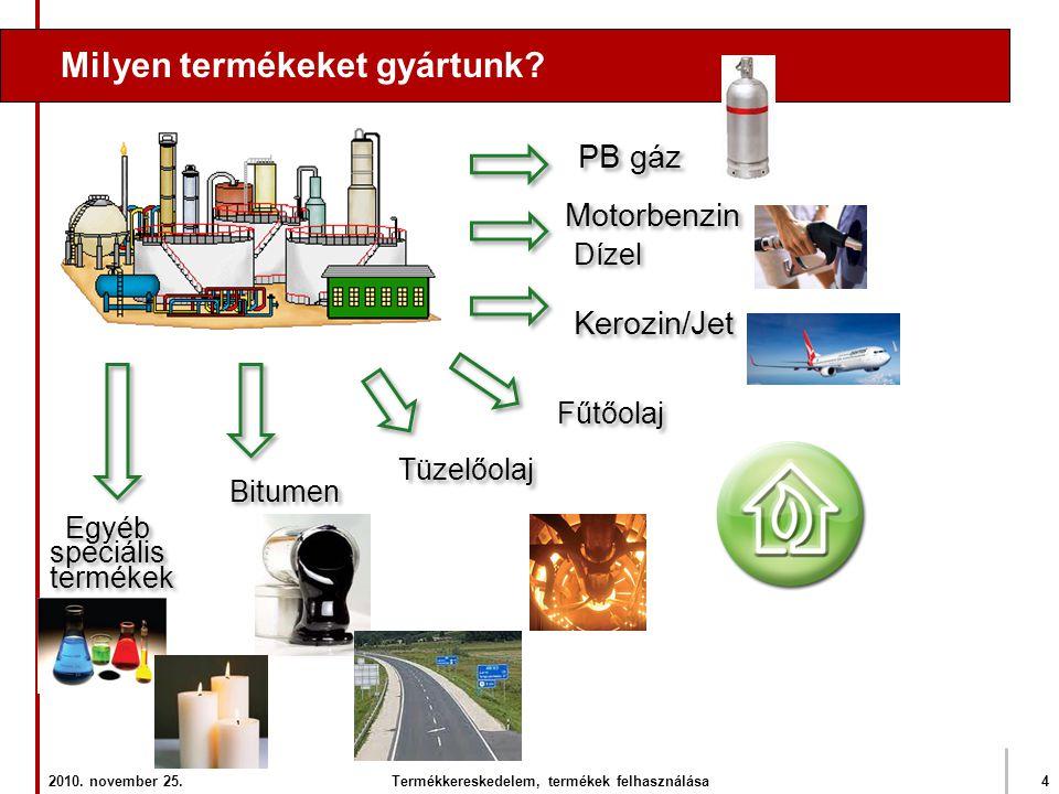 Termékkereskedelem, termékek felhasználása