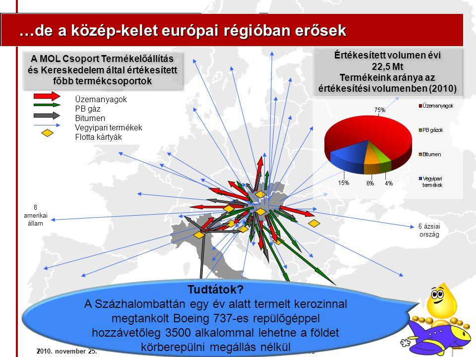 …de a közép-kelet európai régióban erősek