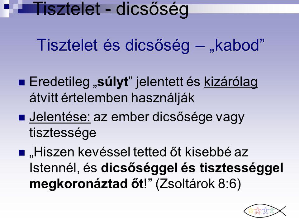 """Tisztelet és dicsőség – """"kabod"""