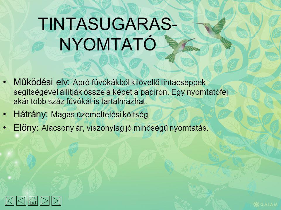 TINTASUGARAS-NYOMTATÓ