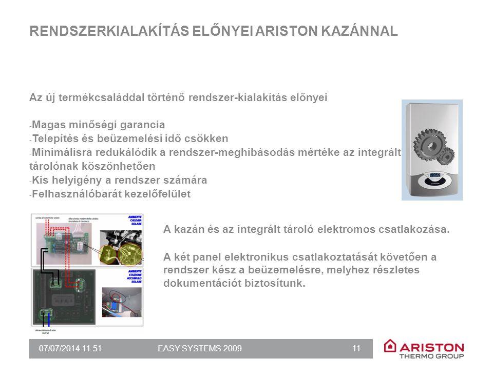 RENDSZERKIALAKÍTÁS ELŐNYEI ARISTON KAZÁNNAL