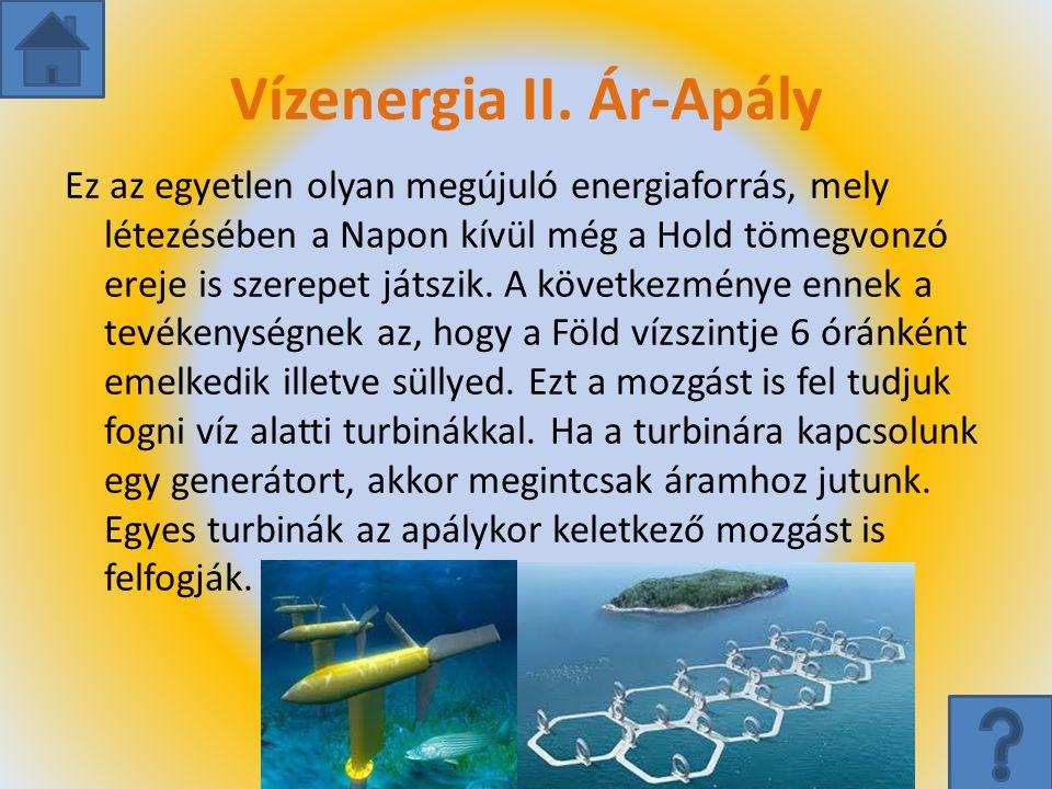 Vízenergia II. Ár-Apály
