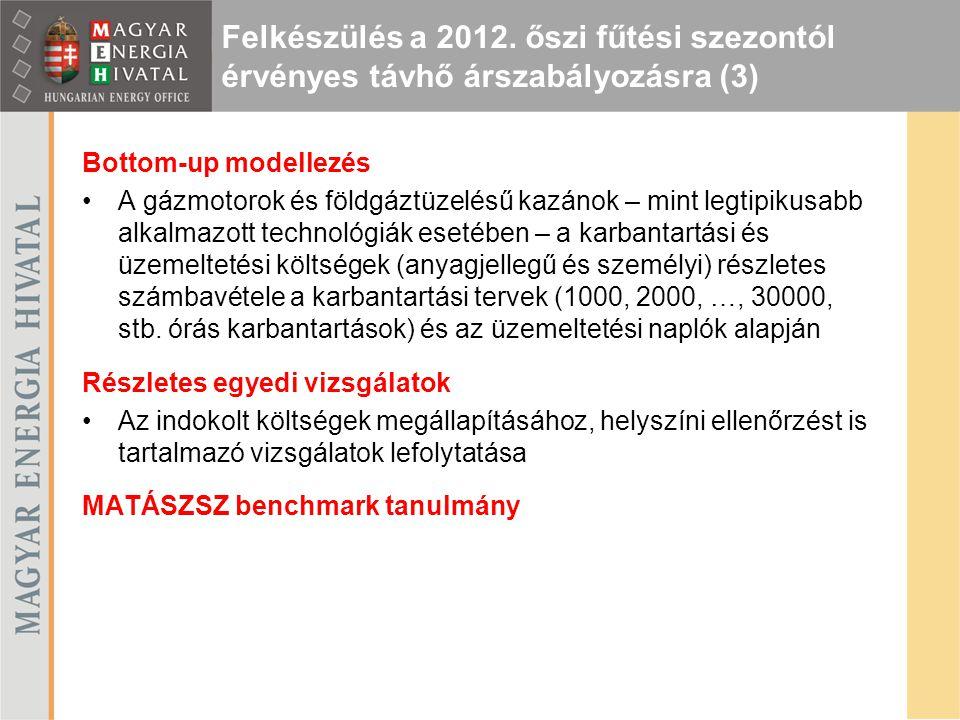 Felkészülés a 2012. őszi fűtési szezontól érvényes távhő árszabályozásra (3)