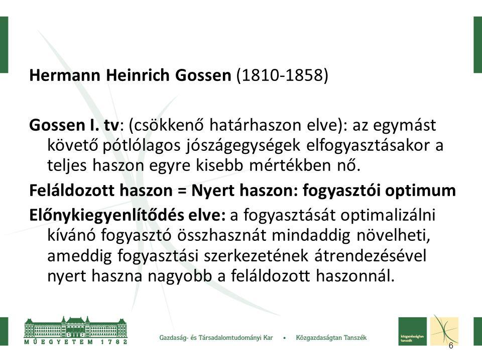 Hermann Heinrich Gossen (1810-1858)