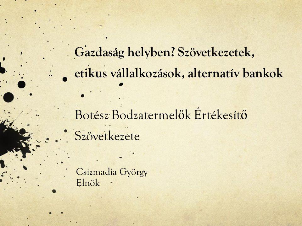 Csizmadia György Elnök