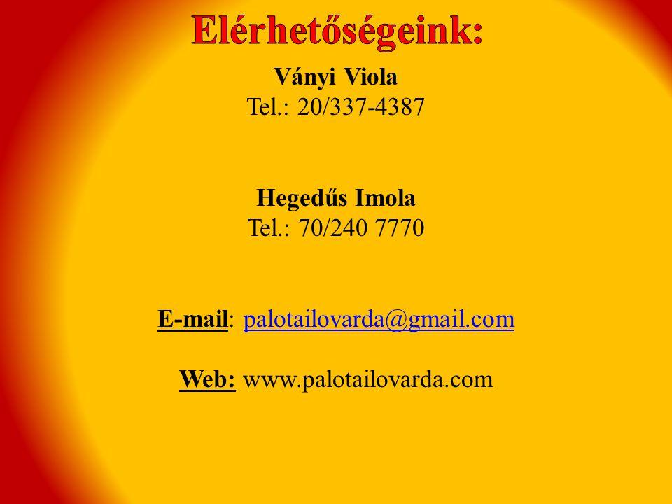 E-mail: palotailovarda@gmail.com