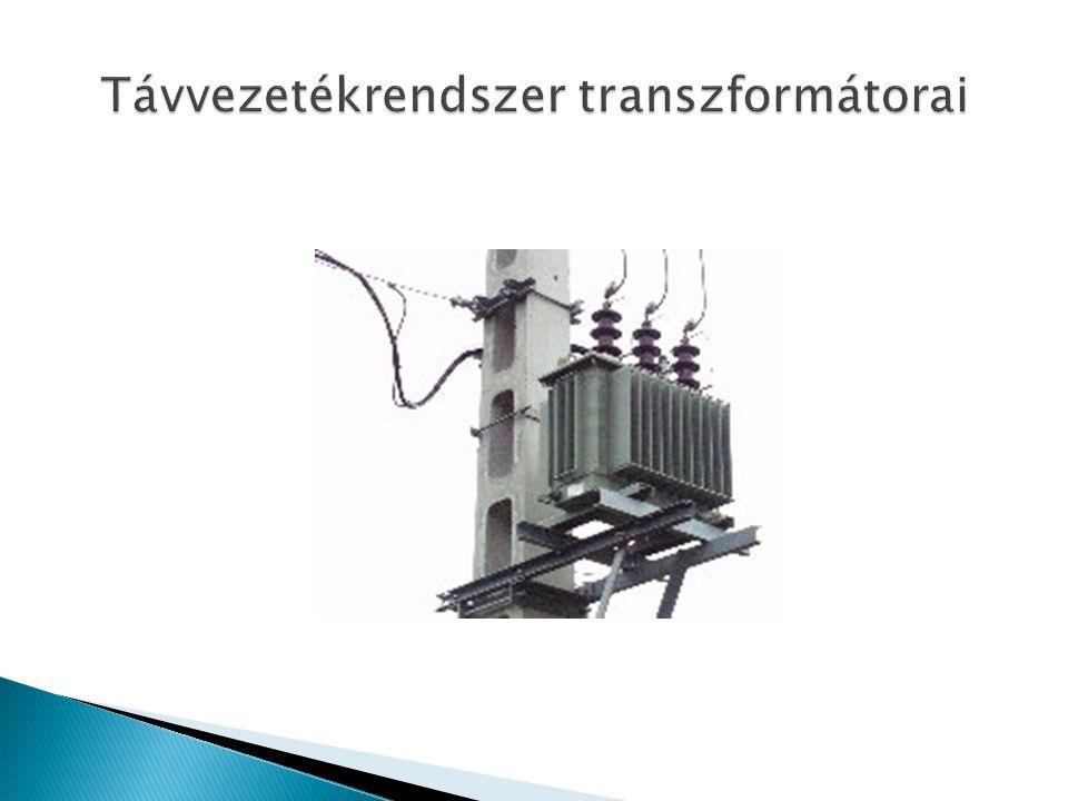 Távvezetékrendszer transzformátorai