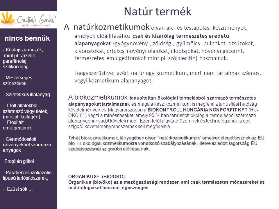 Natúr termék