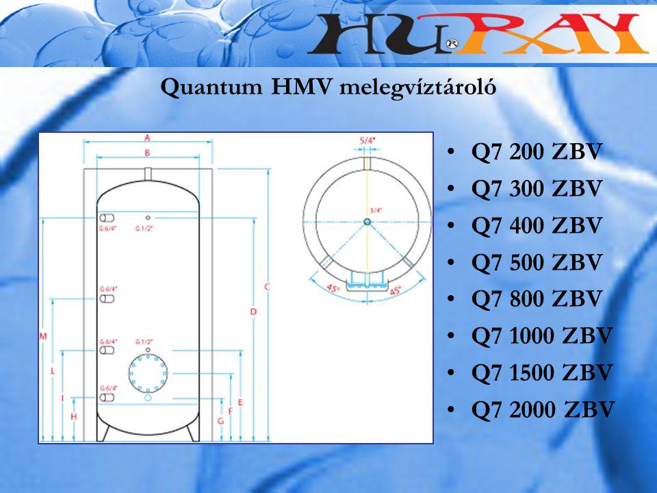 Quantum HMV melegvíztároló