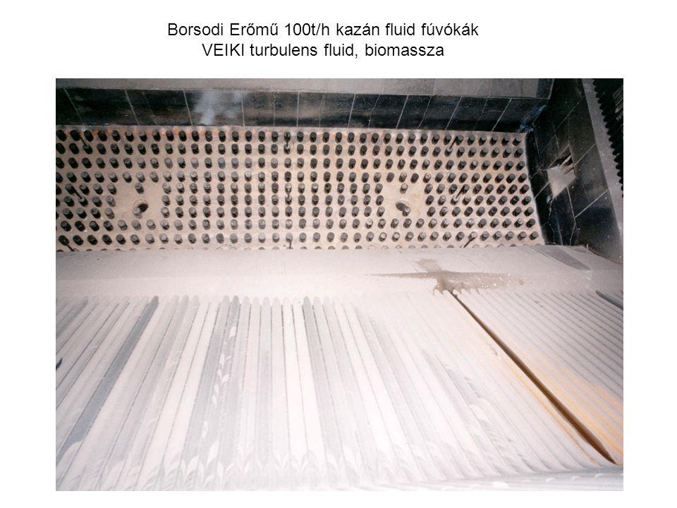 Borsodi Erőmű 100t/h kazán fluid fúvókák