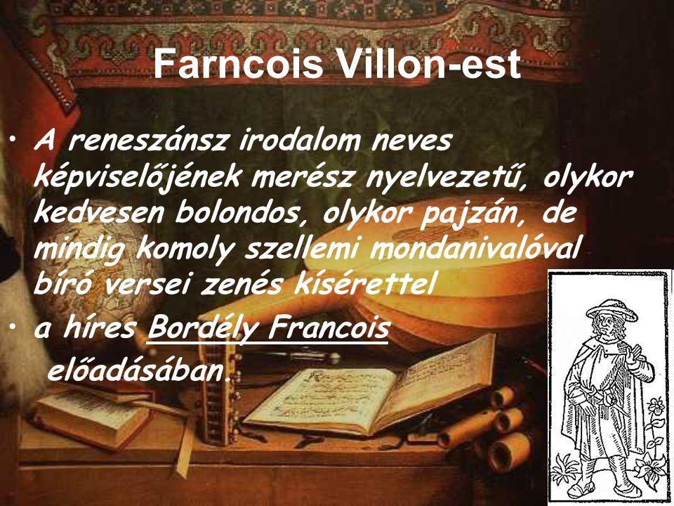 Farncois Villon-est
