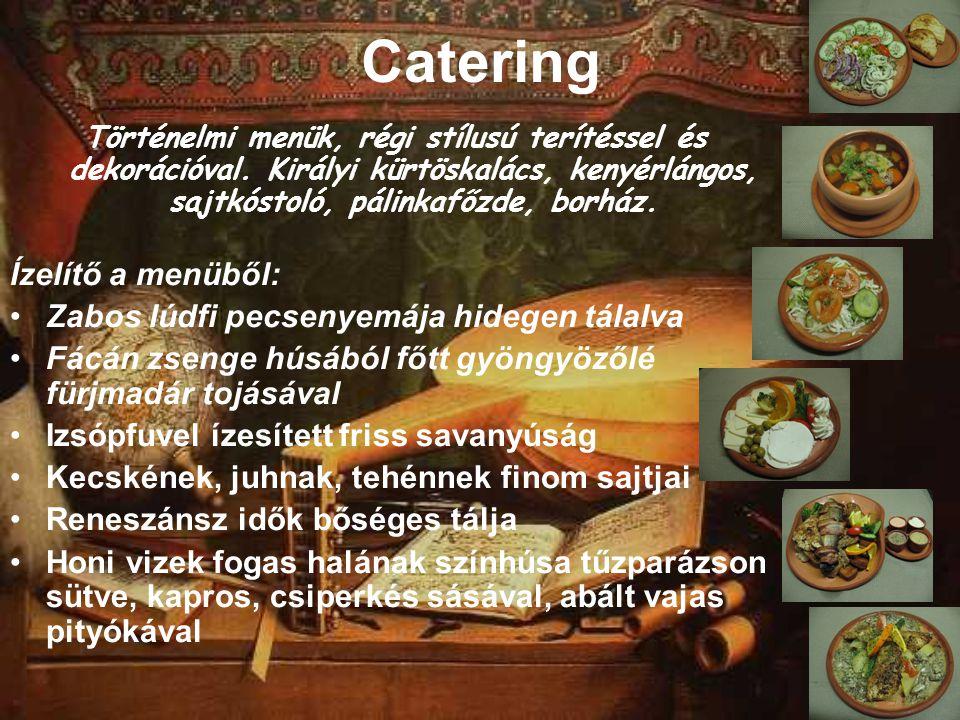 Catering Ízelítő a menüből: Zabos lúdfi pecsenyemája hidegen tálalva