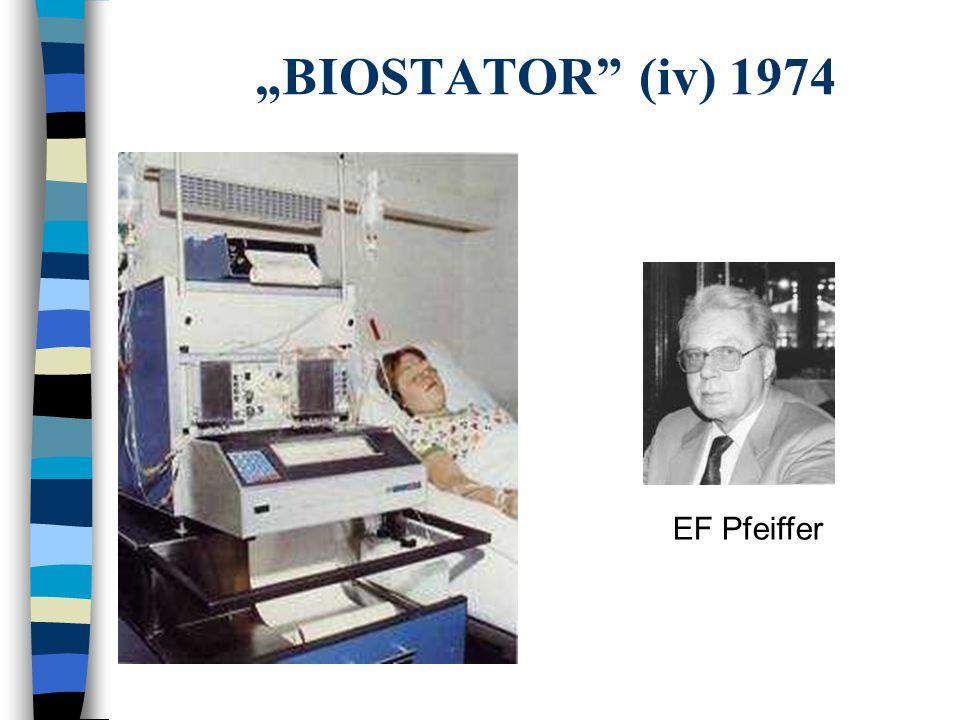 """BIOSTATOR (iv) 1974 EF Pfeiffer"