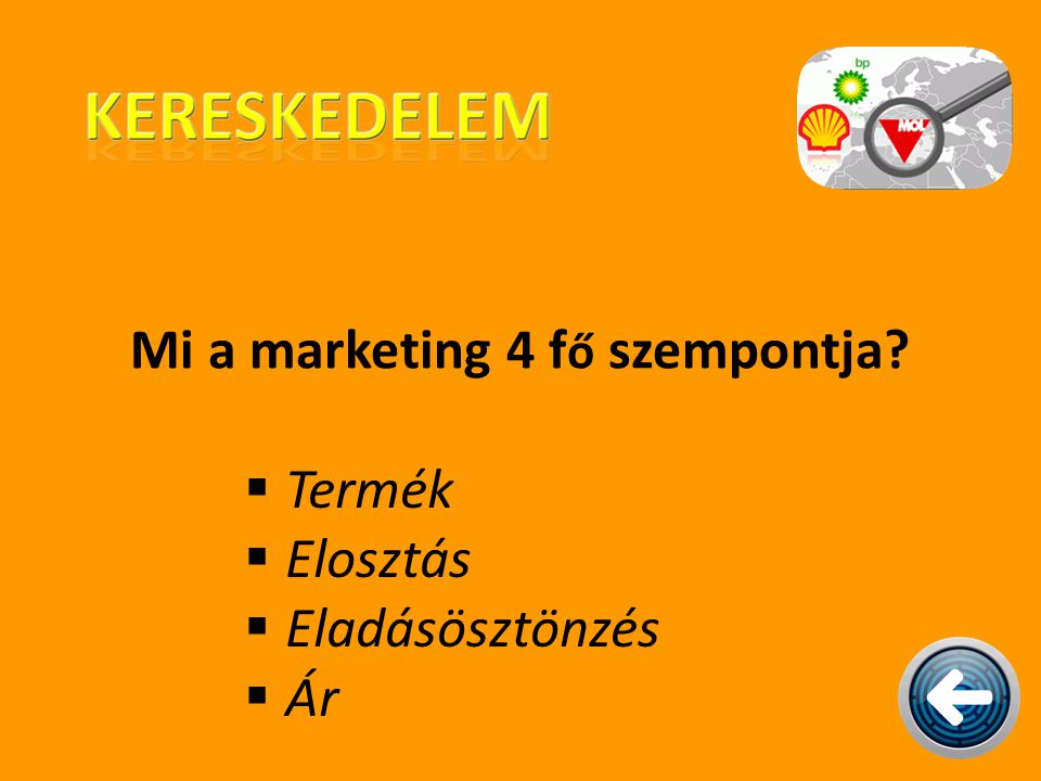 Mi a marketing 4 fő szempontja