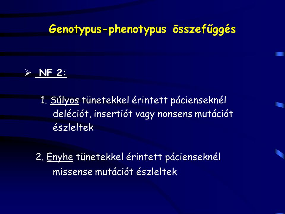 Genotypus-phenotypus összefűggés