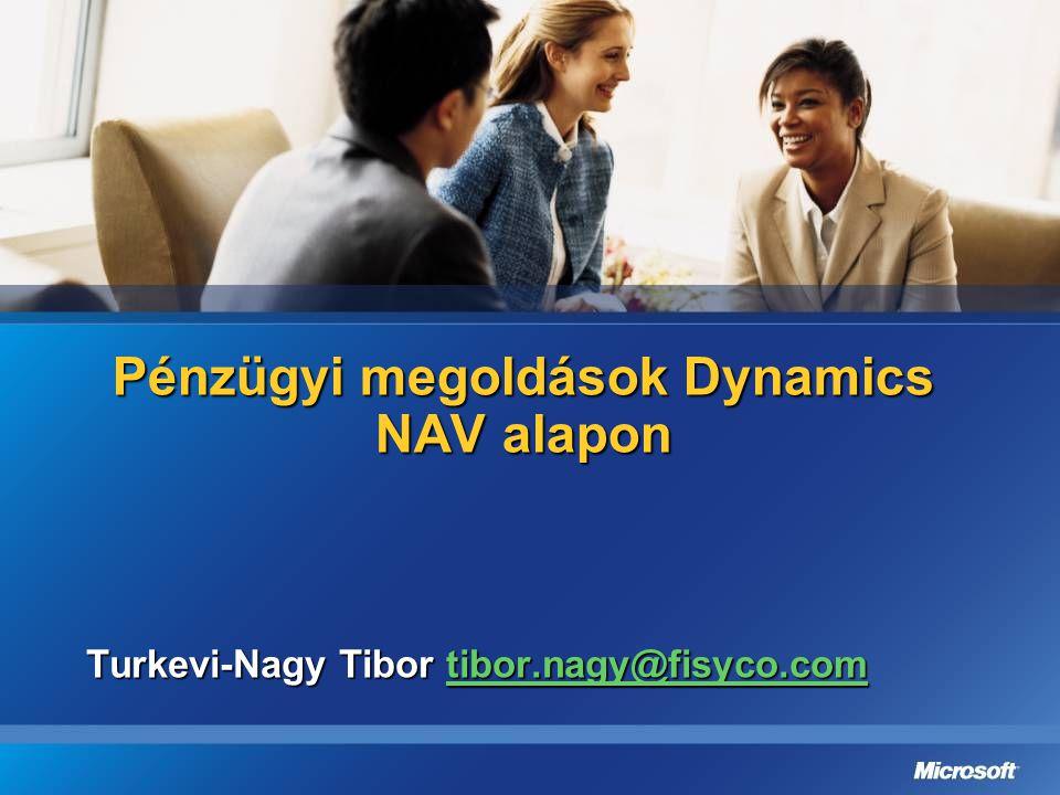 Pénzügyi megoldások Dynamics NAV alapon