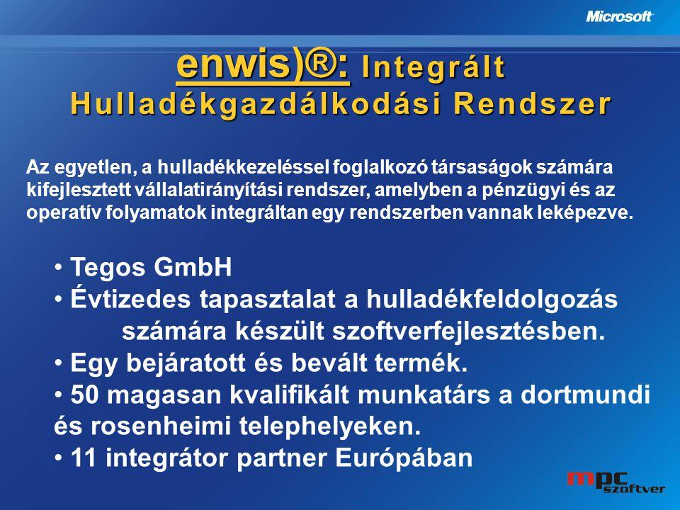 enwis)®: Integrált Hulladékgazdálkodási Rendszer