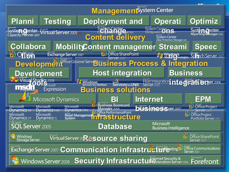 Business Process & Integration Development tools Host integration