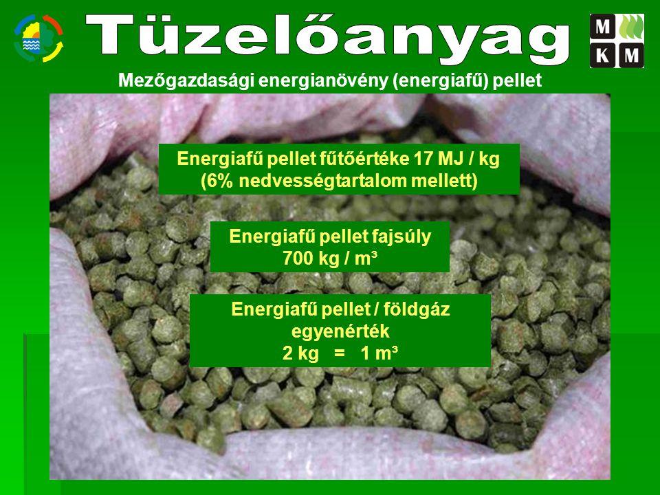 Tüzelőanyag Mezőgazdasági energianövény (energiafű) pellet