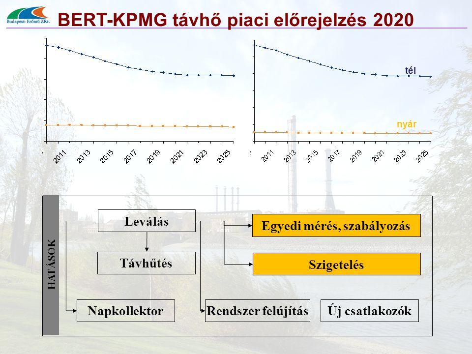 BERT-KPMG távhő piaci előrejelzés 2020 Egyedi mérés, szabályozás