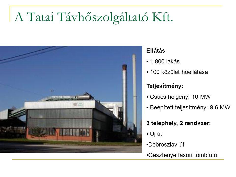 A Tatai Távhőszolgáltató Kft.