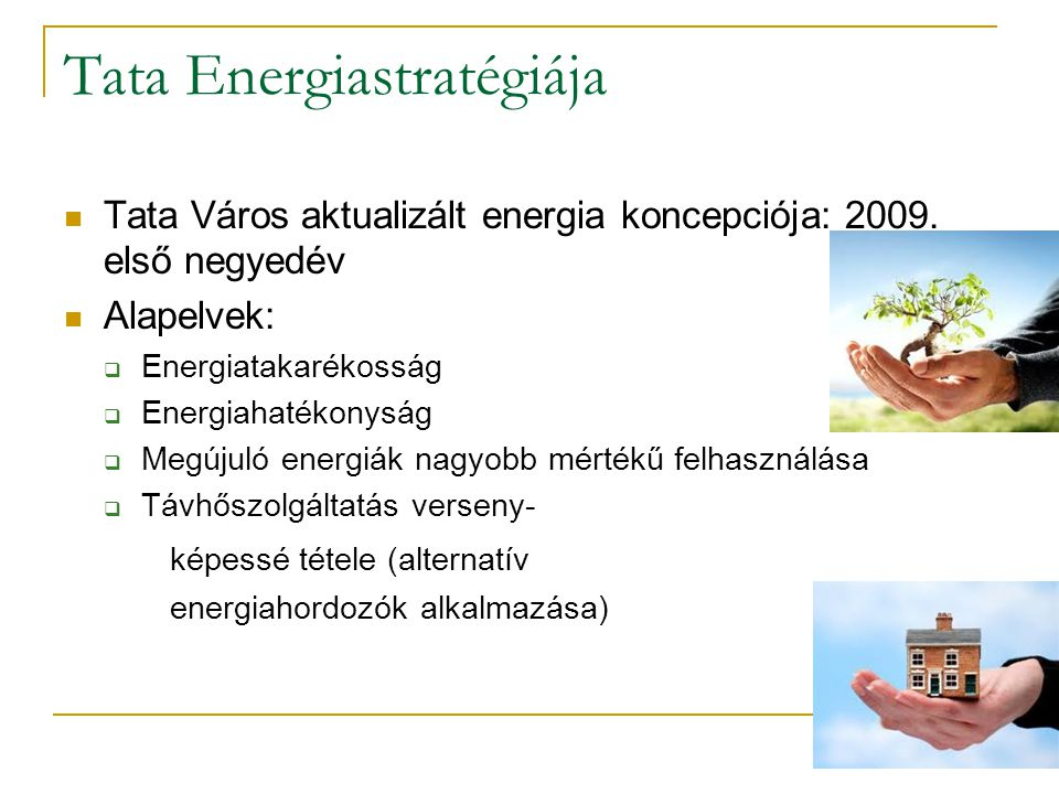 Tata Energiastratégiája