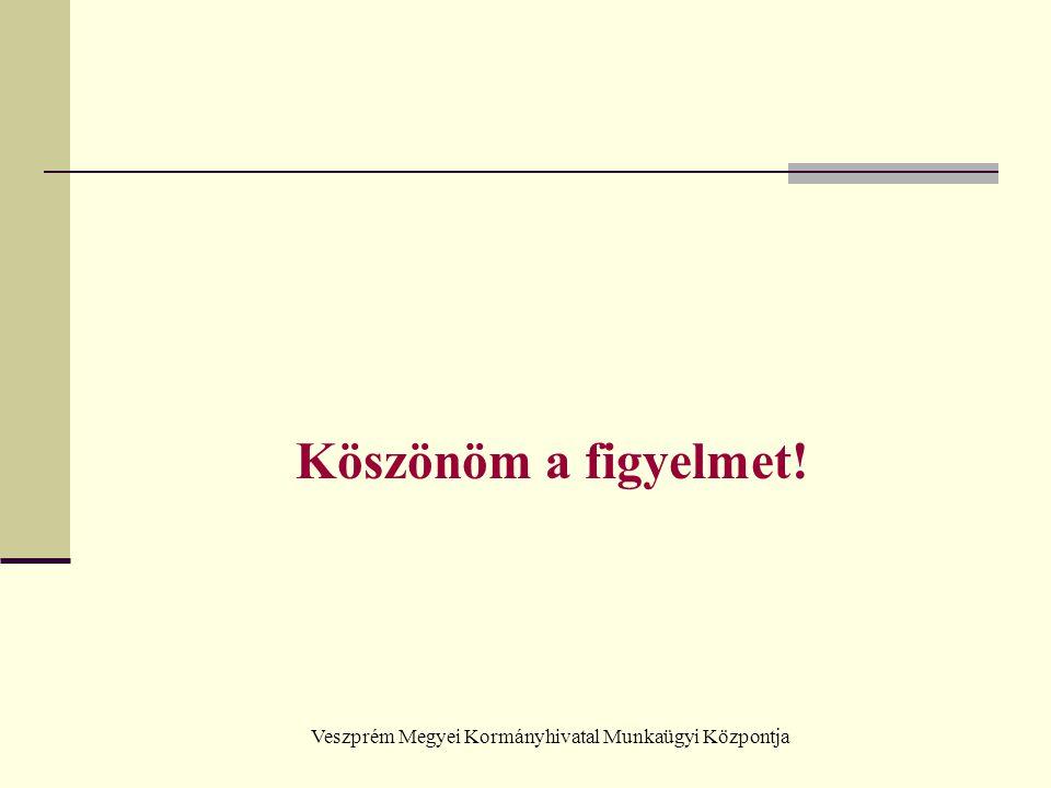 Veszprém Megyei Kormányhivatal Munkaügyi Központja