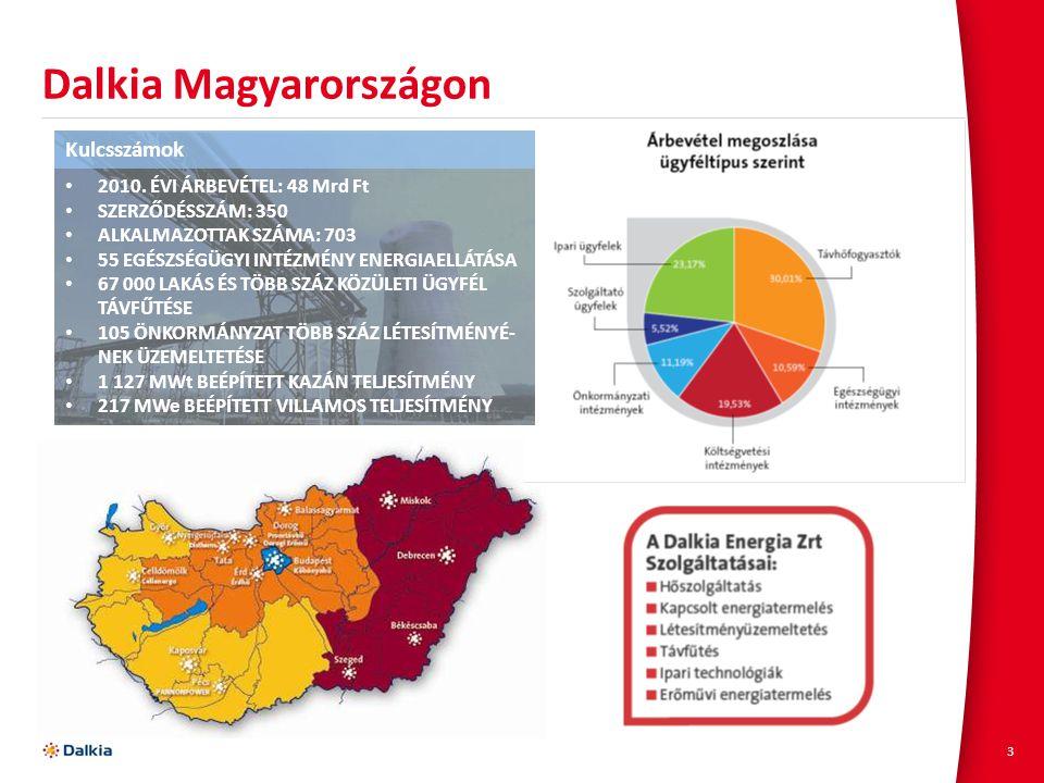 Dalkia Magyarországon