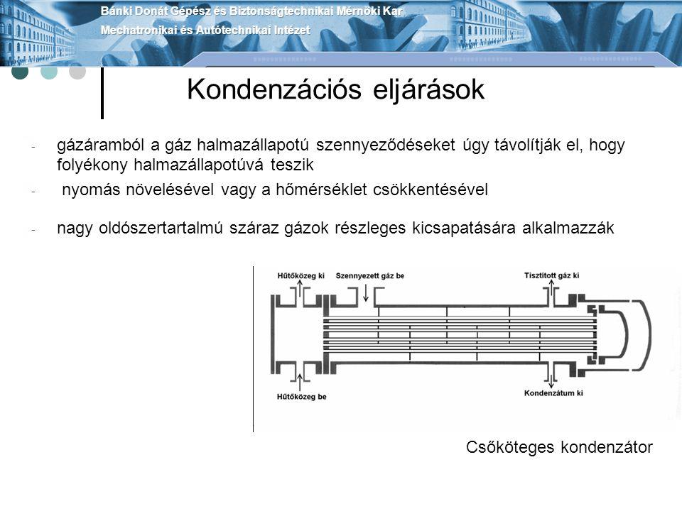 Kondenzációs eljárások