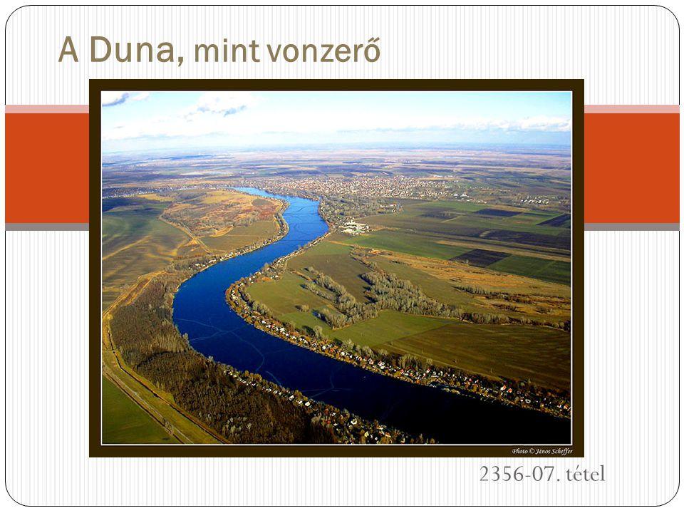 A Duna, mint vonzerő 2356-07. tétel