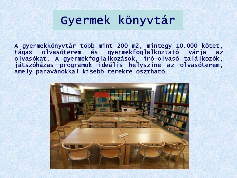 Gyermek könyvtár