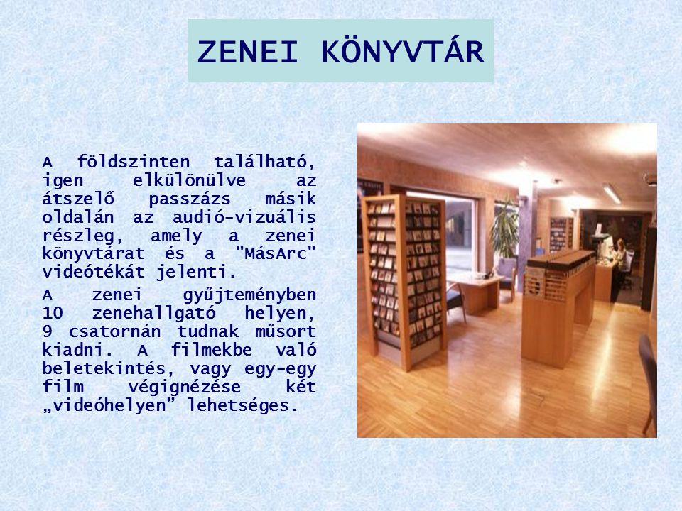 ZENEI KÖNYVTÁR